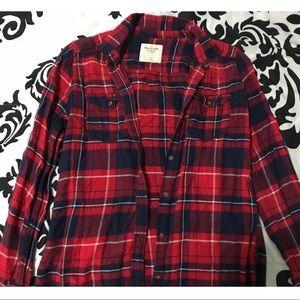 Abercrombie & Fitch Plaid Shirt